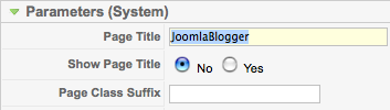Change home page title in Joomla 1.5
