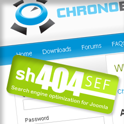 ChronoForms and sh404SEF