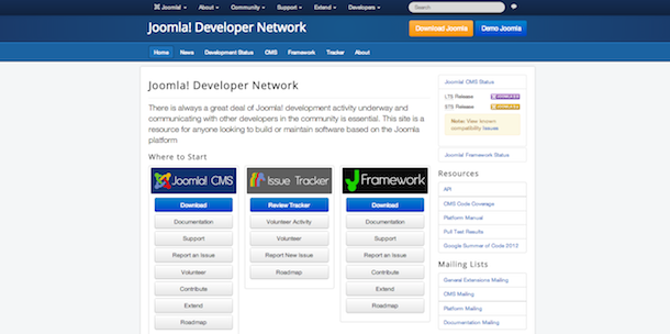 developer.joomla.org