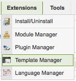 menu-template-manager