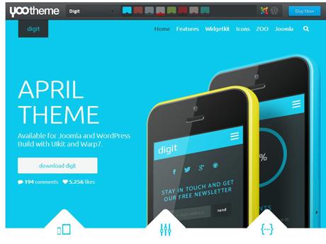 Joomla business templates april 2014 yootheme pronofoot35fo Gallery