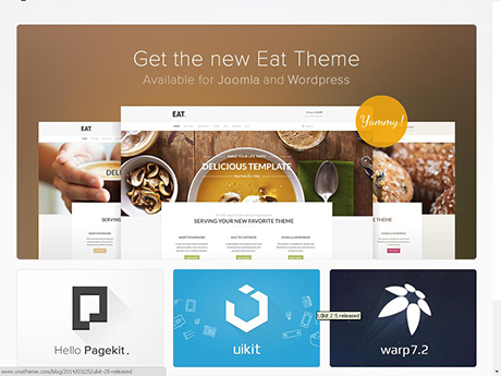 Joomla Business Templates July 2014