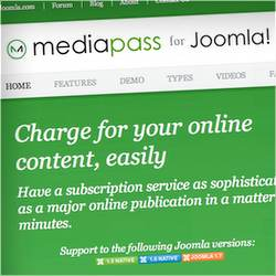MediaPass extension for Joomla