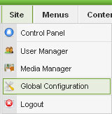 global-configuration-menu-option