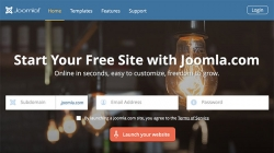 New service provides free websites at Joomla.com