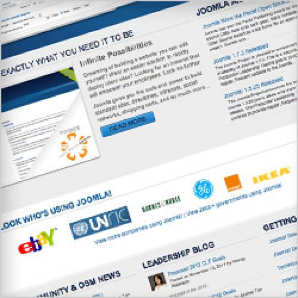 Joomla.org gets a redesign