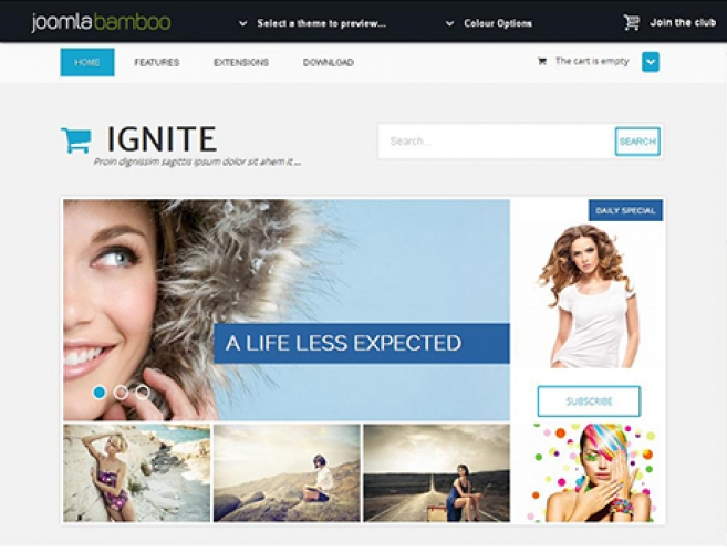 Joomla business templates, November 2013