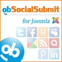 obSocialSubmit - Social Media Marketing for Joomla