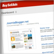 Serving ads with Buysellads.com