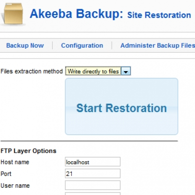Akeeba Backup Professional