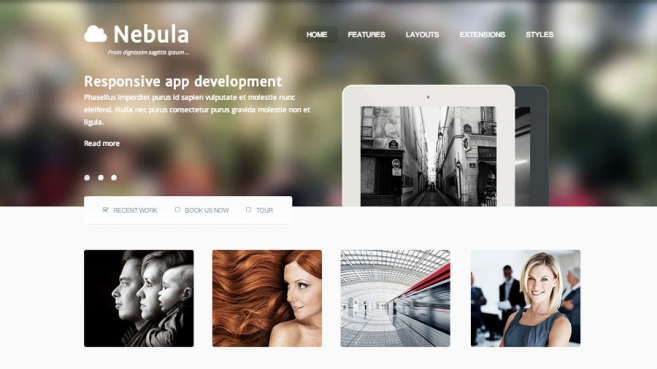 Joomla business templates, July 2013