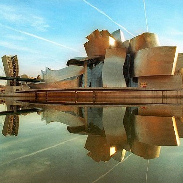A Frank Gehry building